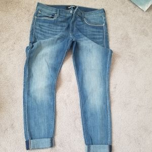 Express midrise ankle legging size 12 short